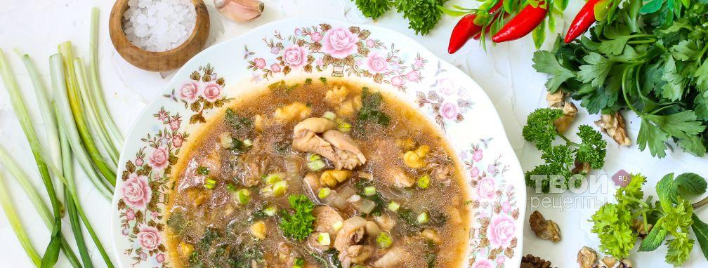 Суп харчо из курицы - Рецепт