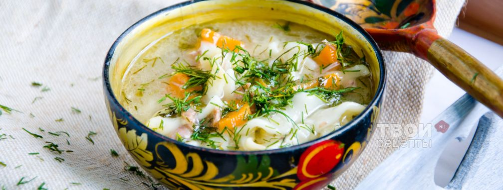 Суп-лапша - Рецепт