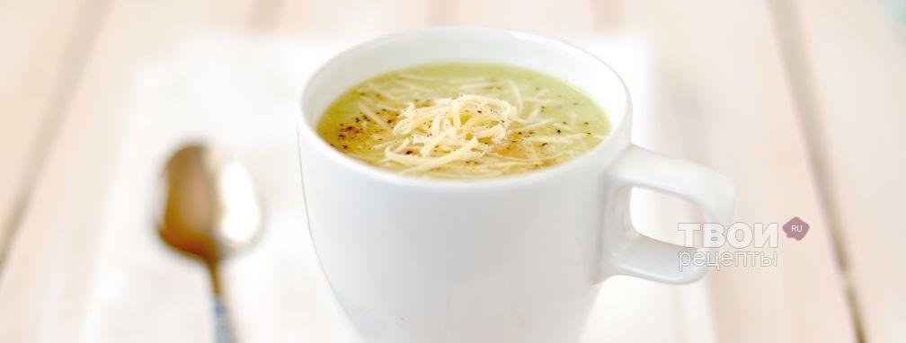 Суп-пюре из брокколи с картофелем и сыром - Рецепт