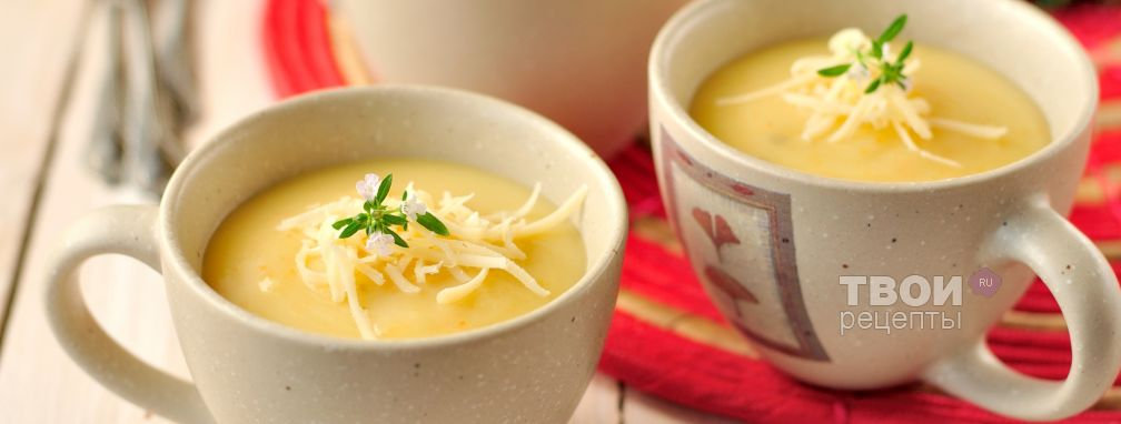 Суп-пюре из картофеля - Рецепт