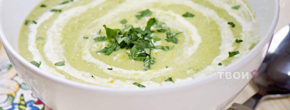 Суп-пюре из лука порея - Рецепт