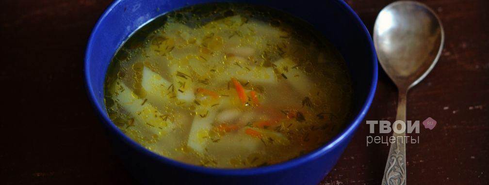 Суп с фасолью в мультиварке - Рецепт