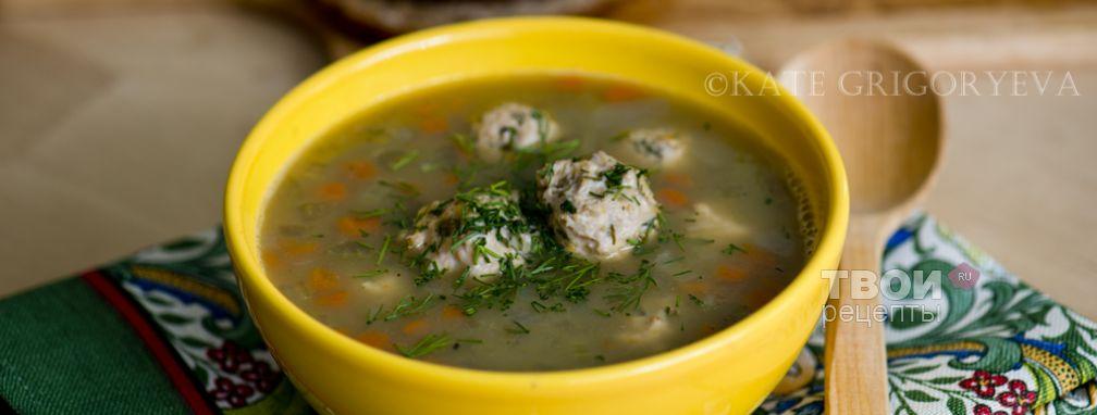 Суп с фрикадельками и бобовыми - Рецепт