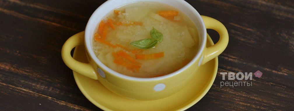Суп с курицей и кускусом - Рецепт