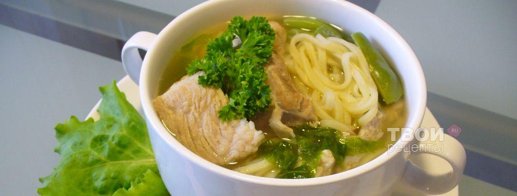 Суп с лапшой  - Рецепт