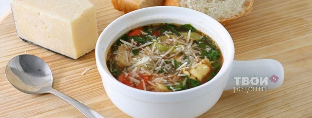 Суп с пельменями - Рецепт