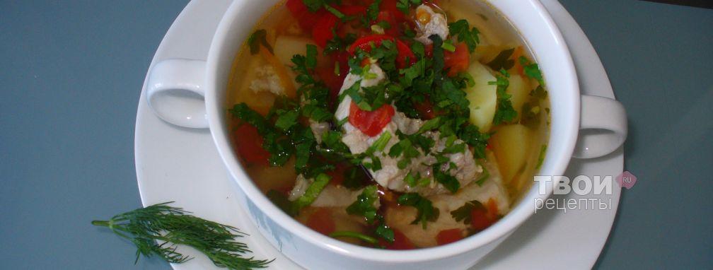 Суп с помидорами - Рецепт
