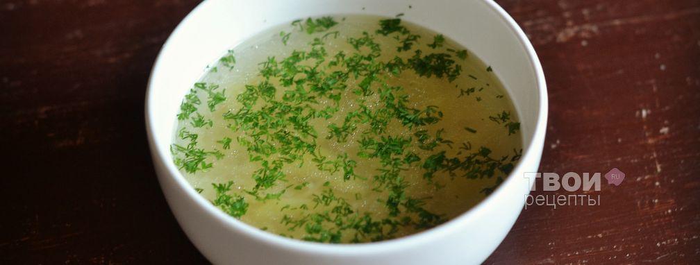 Суп с вермишелью в мультиварке - Рецепт