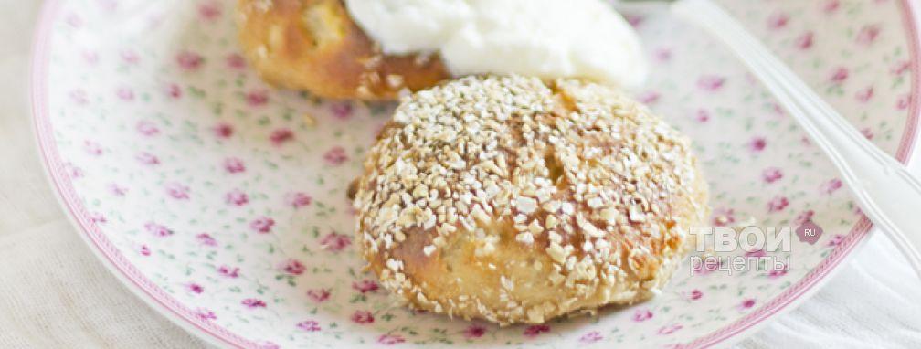 Сырники из цельнозерновой муки с грушей - Рецепт