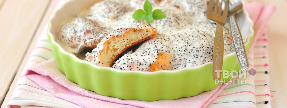 Сырники в духовке под сметанным соусом - Рецепт