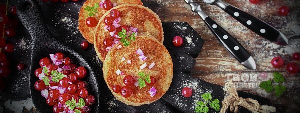 Сырные блины - Рецепт