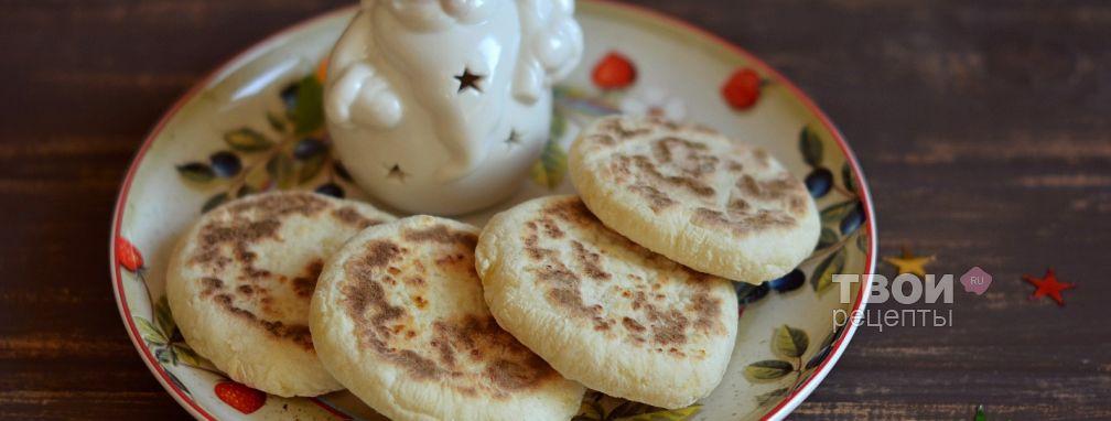 Лепешки без масла - Рецепт