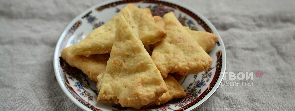 Сырные треугольники - Рецепт