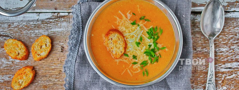 Сырный суп - Рецепт