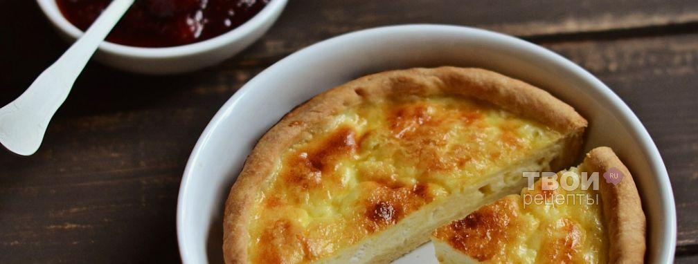 Сырный тарт - Рецепт