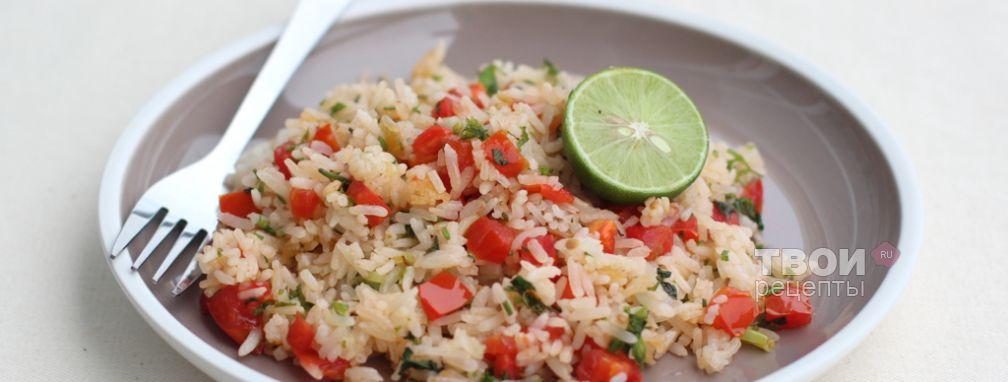 Тайский жареный рис - Рецепт