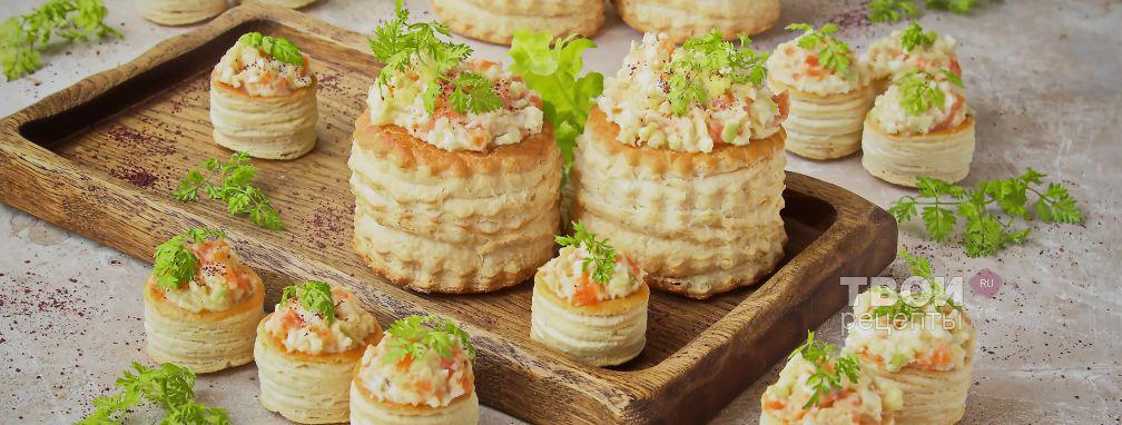 Тарталетки с рыбой - Рецепт