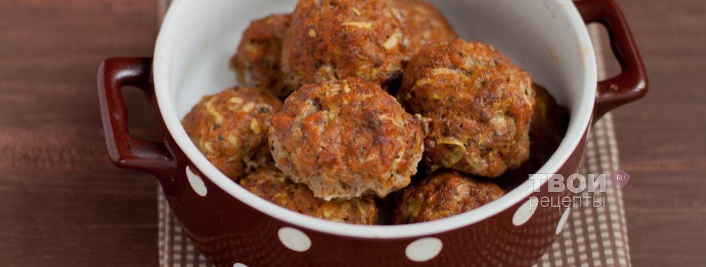 Тефтели с кабачком и тыквой - Рецепт
