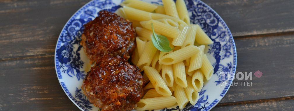 Тефтели, запеченные в духовке - Рецепт