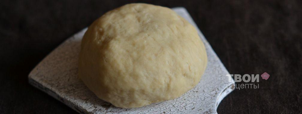 Тесто для домашней лапши - Рецепт