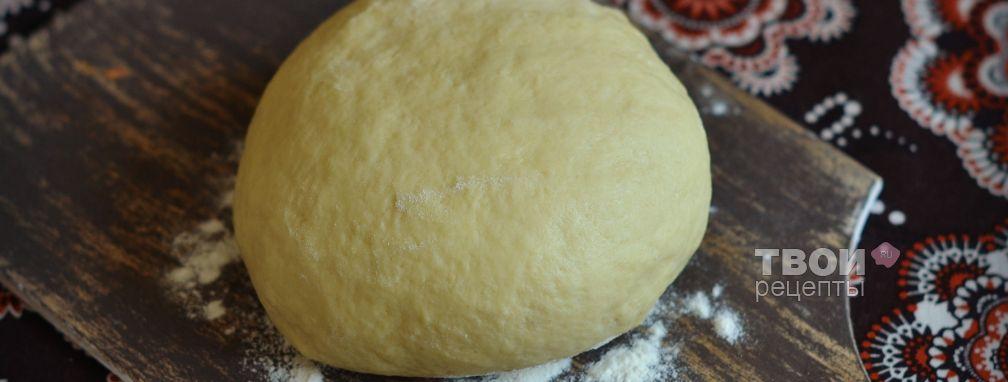 Тесто на желтках - Рецепт