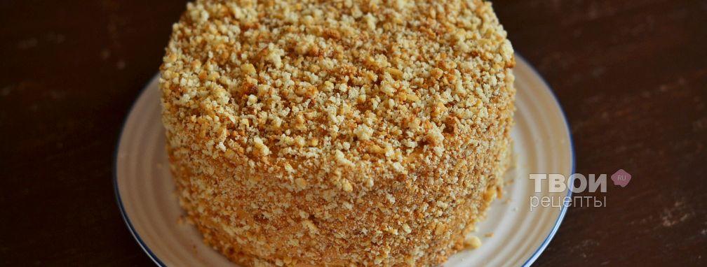 Торт на сгущенном молоке - Рецепт