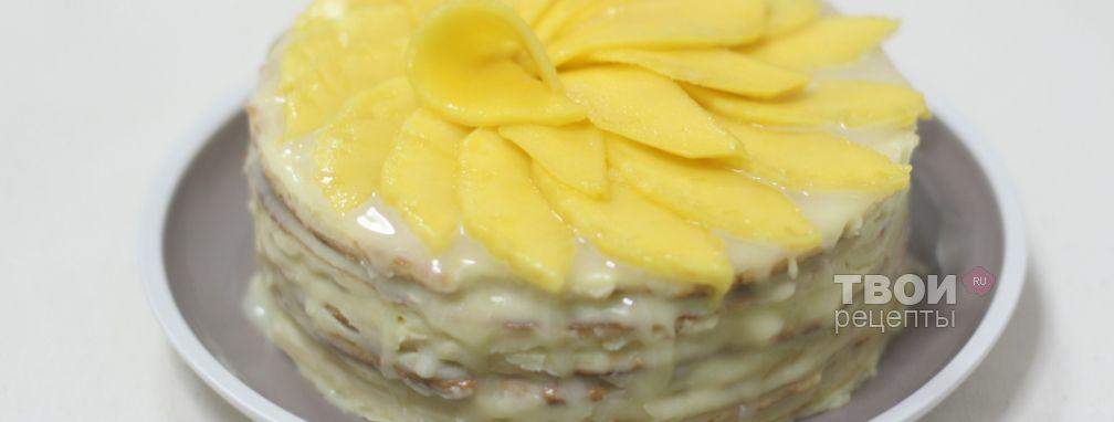 Торт на сковороде - Рецепт