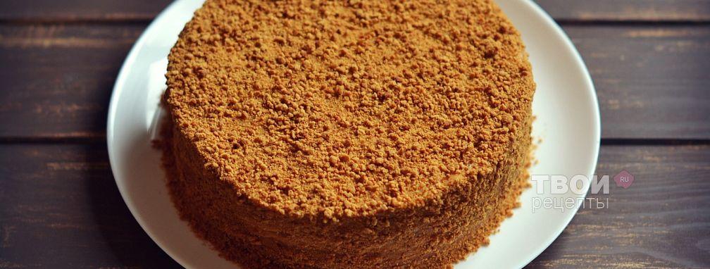 """Торт """"Рыжик"""" - Рецепт"""