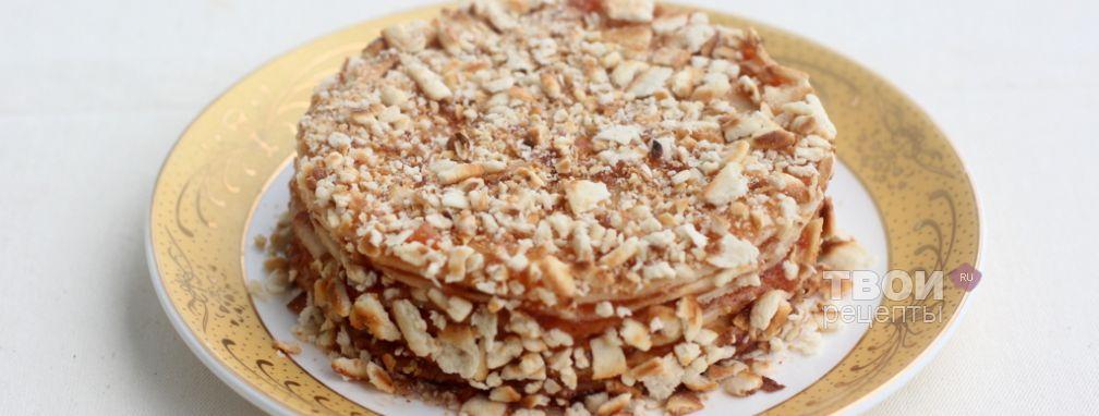 Торт с вареньем - Рецепт