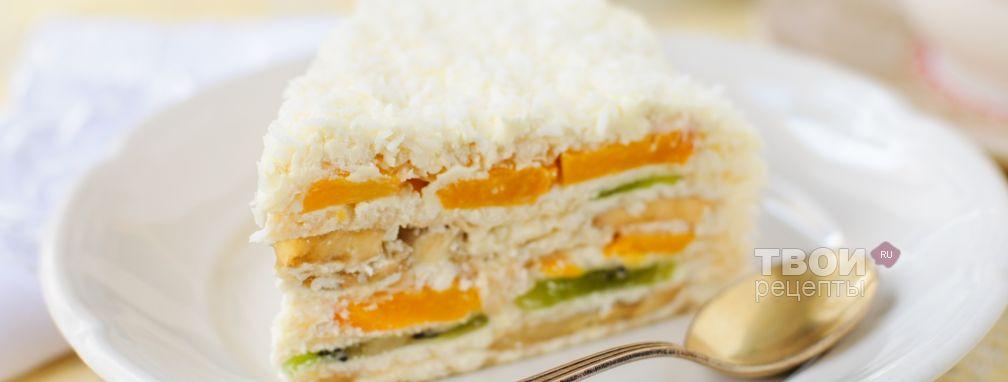 Торт со сгущенкой - Рецепт