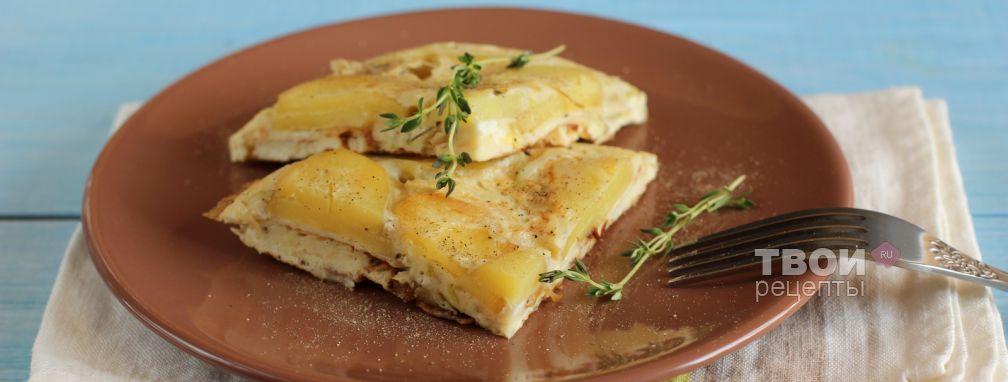 Тортилья с начинкой - Рецепт