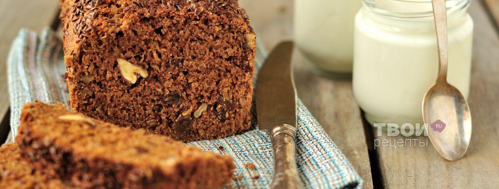 Цельнозерновой кекс с яблоком - Рецепт