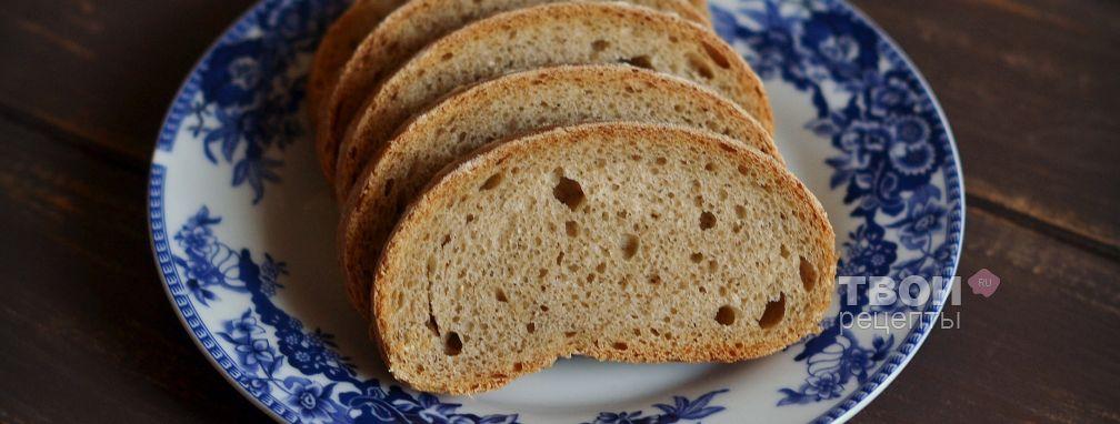 Цельнозерновой хлеб - Рецепт