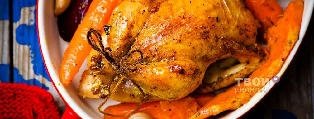 Цыпленок в духовке - Рецепт
