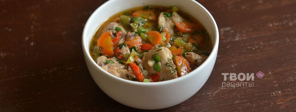 Тушеная курица - Рецепт