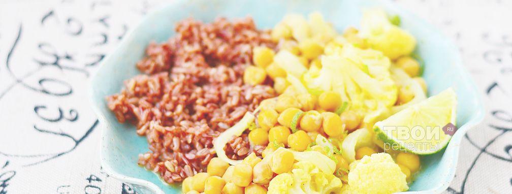 Тушеная цветная капуста - Рецепт
