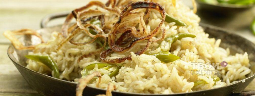 Тушеный рис - Рецепт