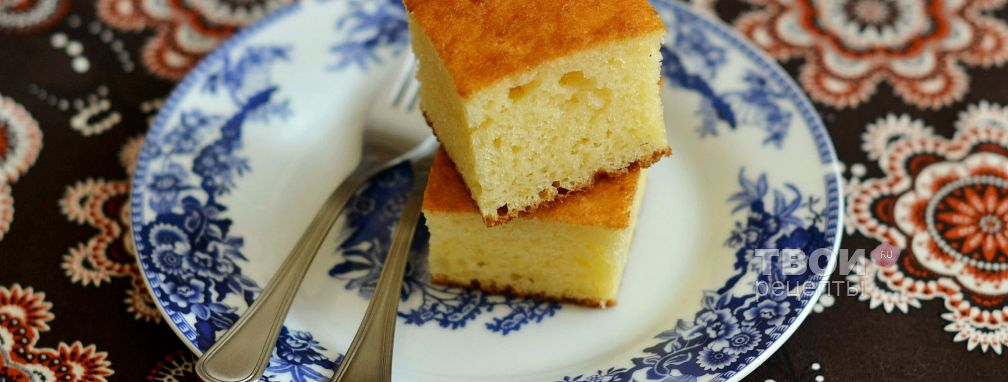 Творожный пирог - Рецепт