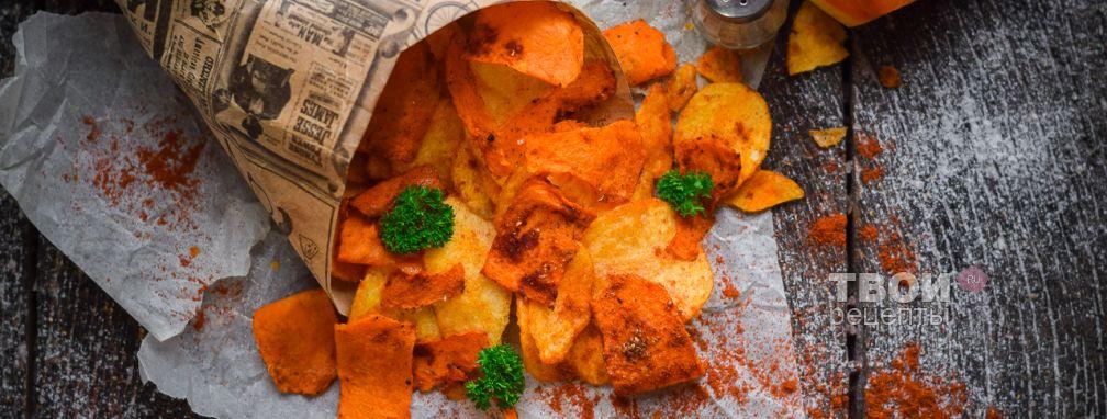Тыквенные чипсы - Рецепт