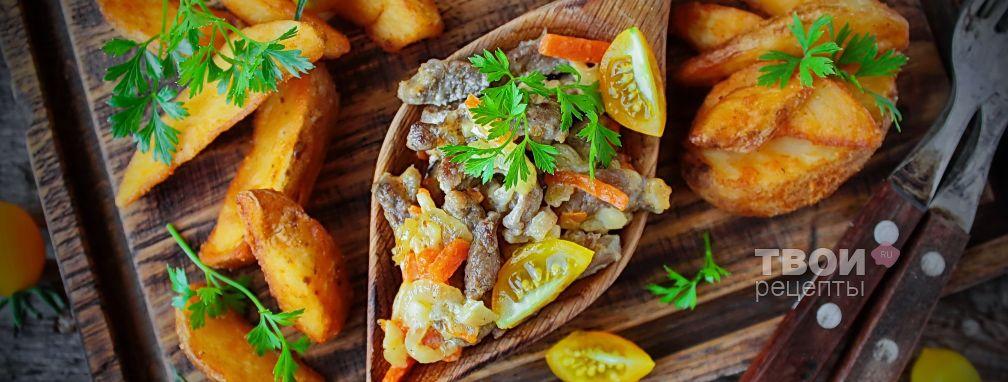 Утка с картошкой - Рецепт