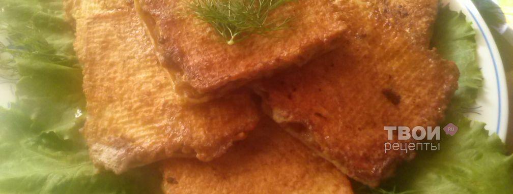 Вафельки с фаршем - Рецепт