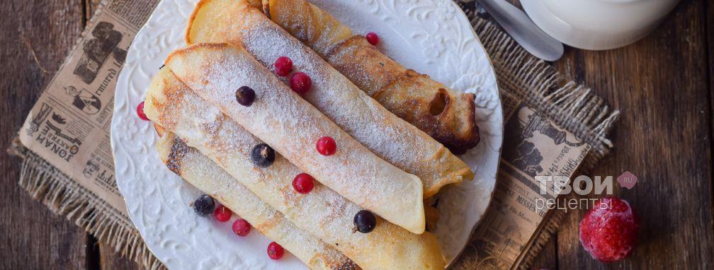 Вафли без вафельницы - Рецепт