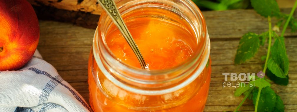 Варенье из персиков - Рецепт