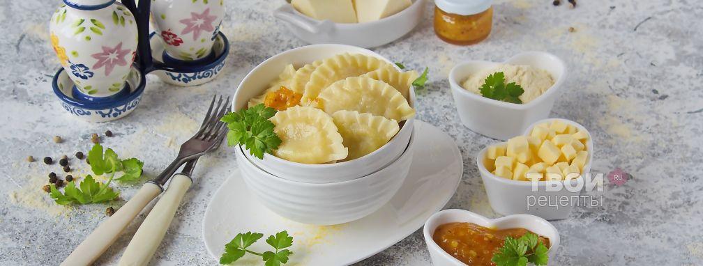 Вареники с адыгейским сыром - Рецепт