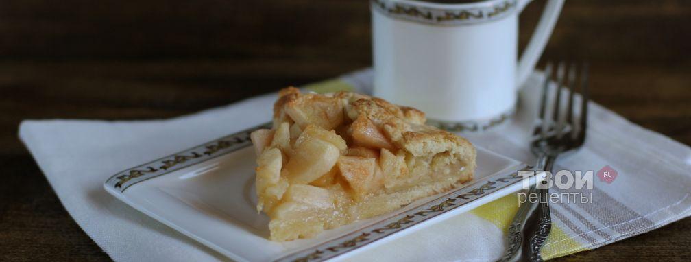 Яблочная галета - Рецепт
