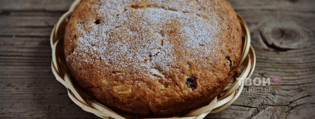 Яблочно-клюквенный пирог - Рецепт
