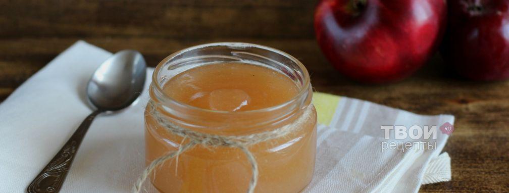 Яблочное повидло - Рецепт