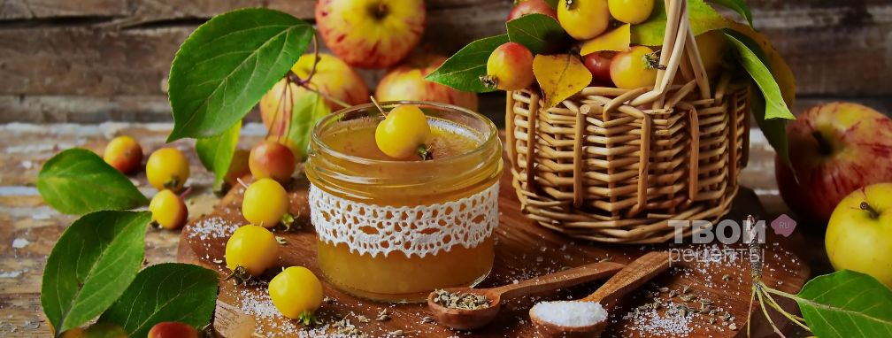 Яблочный мармелад - Рецепт
