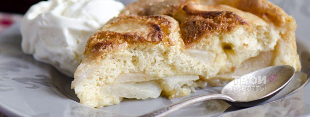 Яблочный пирог - Рецепт
