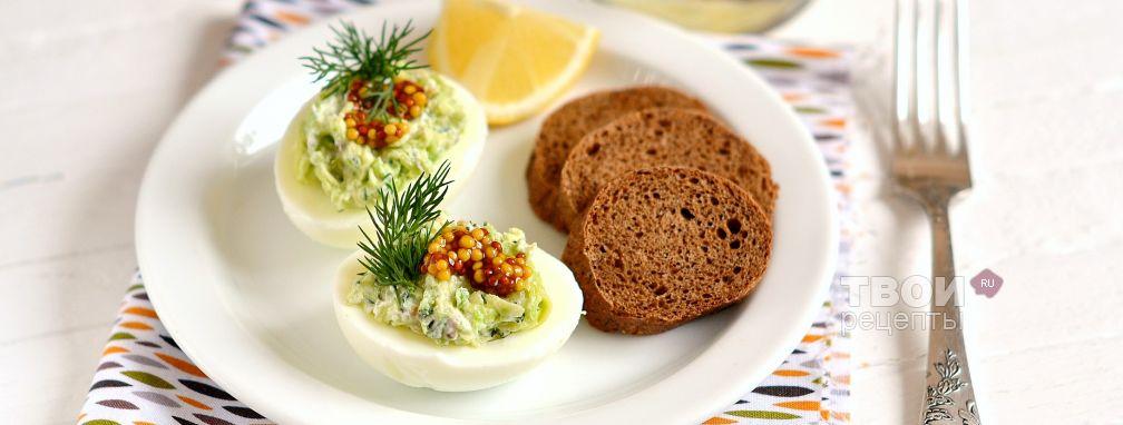 Яйца с авокадо - Рецепт